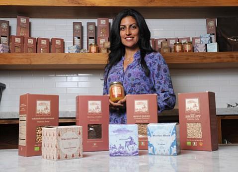 <b>UMBRIAN EATS:</b>  Sapna Marini Shah now imports Italian goods from her husband's farm to Santa Barbara.