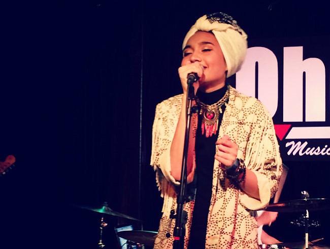 Yuna at SOhO Restaurant & Music Club on Thursday, June 26.