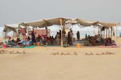 Living conditions of new arrivals escaping the chaos of Central African Republic.