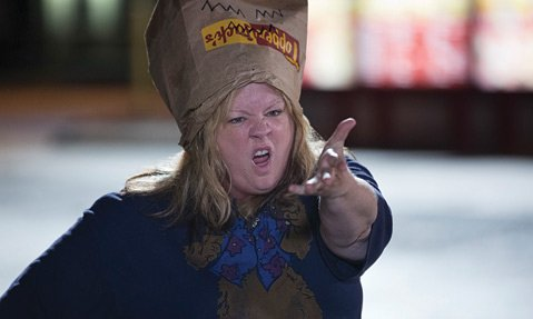 <b>HIT THE ROAD: </b> Melissa McCarthy stars in the uninspired road-trip comedy <i>Tammy</i>.