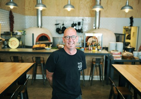 <b>WOOD FIRED FUN:</b>  Jeff Olsson's Industrial Eats in Buellton serves up everything from wood-fired veggies and pizzas to cured meats, cuts of rare game, and fresh fish for cooking at home yourself.
