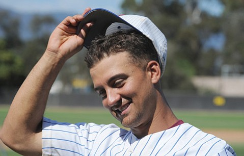 <b>HOMEWARD BOUND:</b> Foresters shortstop and leading hitter Ford Stainback, who played in the prestigious Cape Cod League, is glad to be in Santa Barbara.