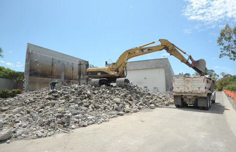 <b>POTABLE TO PARKS:</b>  Water-quality issues mean the recycled water plant is under reconstruction.