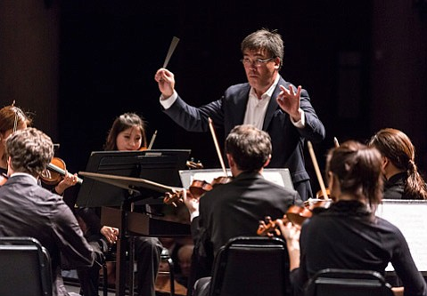 <b>TOP GUN: </b> Maestro Gilbert is among the world's highest-rated symphony orchestra conductors.