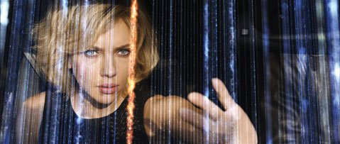<b>THIS IS YOUR BRAIN ON BESSON: </b> Scarlett Johansson plays a drugged-out superwoman in Luc Besson's <i>Lucy</i>.