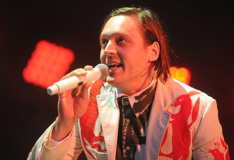 Arcade Fire at the Santa Barbara Bowl