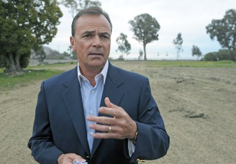 <b>LATEST WRINKLE: </b> Rick Caruso, the third developer to promise to rebuild the Miramar Hotel, is now unveiling his third plan for public review.