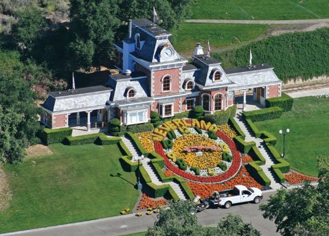 <b>NEVERLAND:</b>  The tigers and trains may be gone, but Michael Jackson's 2,700 acres in Santa Ynez remain a handsome property.