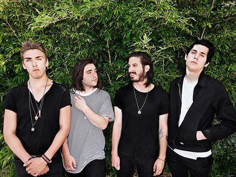 "KINGS OF HEARTS:  L.A.'s Bad Suns are riding high on the success of their hit single, ""Cardiac Arrest."""
