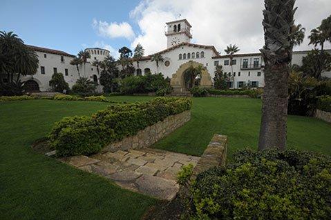 Courthouse Sunken Gardens