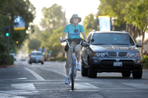 Does Santa Barbara need more bike lanes or unencumbered car lanes?