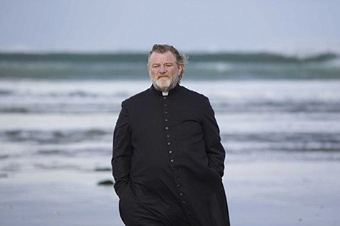 <b>SHADOW OF DEATH:</b>  Brendan Gleeson plays a priest whose life is threatened in Calvary.