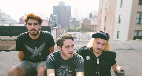 <b>JOY RIDE:</b>  together PANGEA (from left: Erik Jimenez, William Keegan, and Danny Bengston) are touring in support of their latest LP, Badillac
