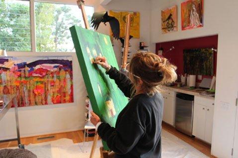 Santa Barbara painter Sara Lytle