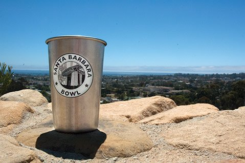 <b>BOTTOMS UP: </b> Forget the copper Moscow-mule mug. This summer's hottest beverage container is stainless and sustainable.