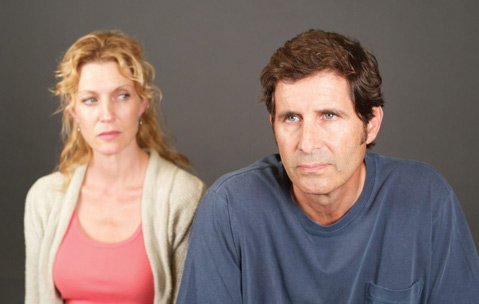 <b>GUILTY OR NOT:</b>  Elyse Mirto (left) and Tom Astor play a troubled husband and wife in <i>Conviction</i>.