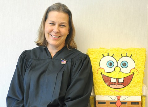 <b>PAVING THE WAY: </b> Judge Denise de Bellefeuille was not the first woman to serve on the Santa Barbara bench, but for many years, she was the only one. Now there are six, plus two commissioners.