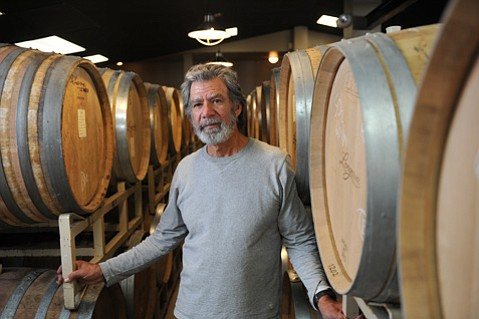 <b>RENT BE GONE: </b> Rick Longoria, one of Santa Barbara County's pioneering winemakers, finally owns his own Lompoc facility after more than three decades in the business.