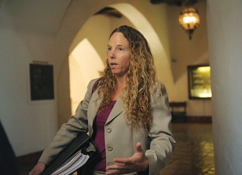 <b>NO DOUGH: </b> Tara Haaland-Ford worked 400 hours to defeat the gang injunction but Judge Colleen Sterne ruled she's not entitled to attorneys' fees.