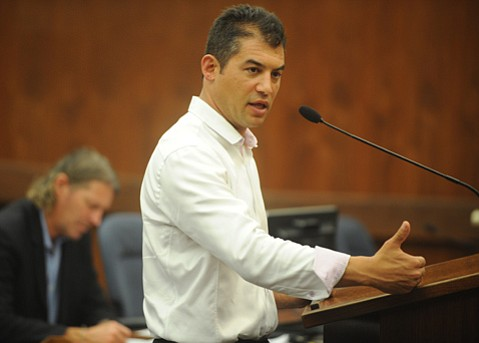 <b>Finally a Solution? </b> Assemblymember Das Williams defends his bill that would set up a special district in the unincorporated, overcrowded town of Isla Vista.