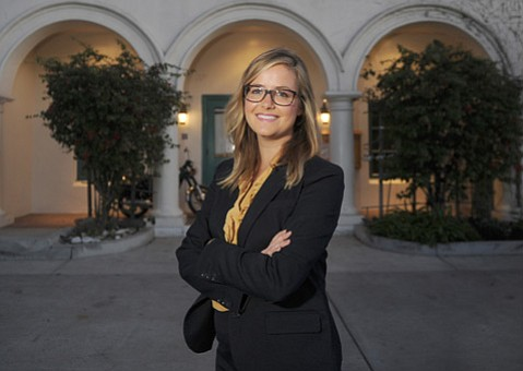 """<b>Strategizing:</b>  New Director Jessica Wishan said Casa's role in reducing homelessness means being """"adaptable and proactive."""""""