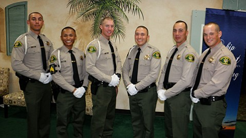Six Sheriff's recruits became deputies on Thursday in a graduation ceremony.