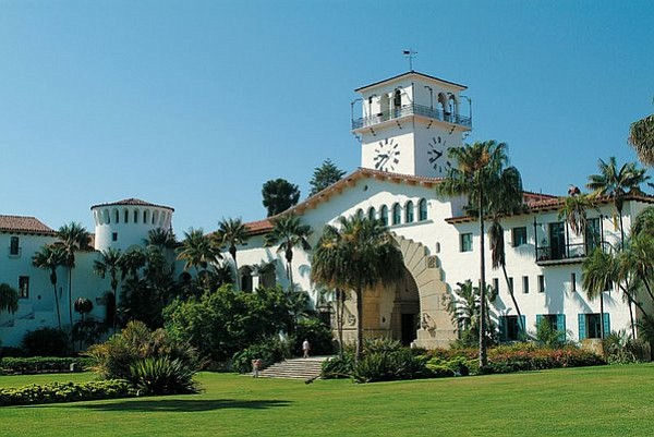 The Santa Barbara Courthouse