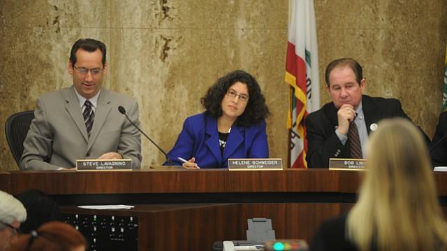 Mayor Helene Schneider at this Thursday's SBCAG meeting