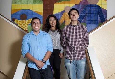 <b>STARS:</b>  Angel, Barbara, and Estevan share three Transition House success stories.
