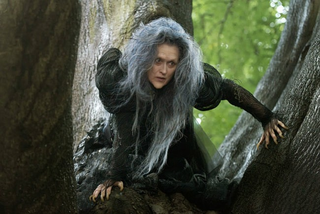 Meryl Streep stars as the Witch in <em>Into the Woods</em>.