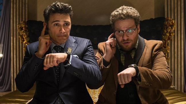 James Franco and Seth Rogen star in <em>The Interview</em>.