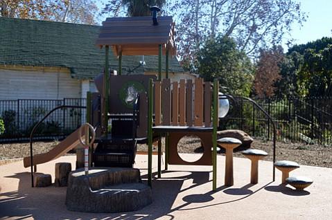 Westside pocket park at Ortega and Bath streets