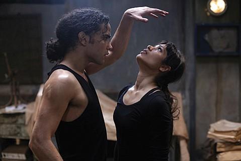 Freida Pinto and Reece Ritchie in Desert Dancer