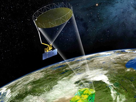 The SMAP satellite will map soil moisture around the planet every two to three days.