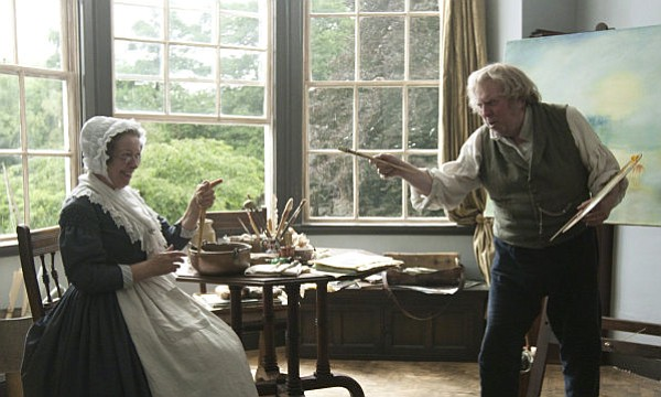 PRETTY PICTURES: Director Mike Leigh's historical drama about 19th-century painter J.M.W. Turner is nice to look at, but seriously lacking compelling characters.