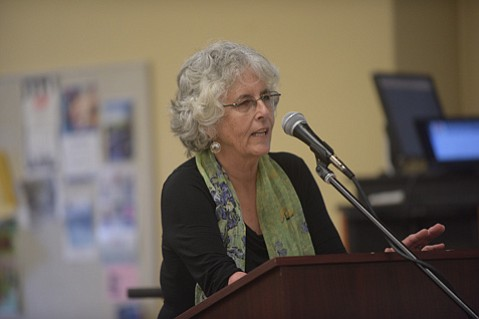 """<b>WAYS TO GO:</b>  SBCC neighbor Beebe Longstreet called the task force meetings """"just the beginning."""""""