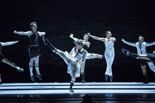 The Joffrey Ballet at the Granada on Tuesday, March 10.