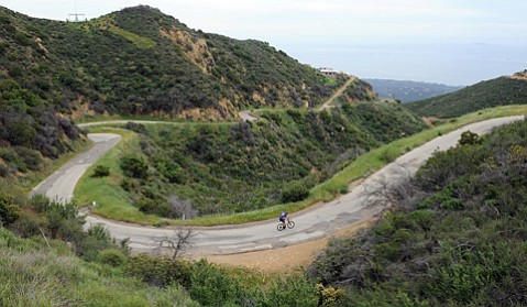 <b>ROUGH STUFF: </b> Once Gibraltar Road is repaved, it'll offer a much smoother ride.