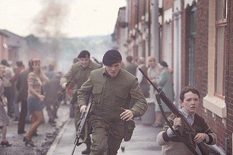 <b>STREETS OF SORROW:</b>  <i>Unbroken</i>'s Jack O'Connell plays a British soldier separated from his regiment in Belfast during the Troubles in <i>'71</i>.