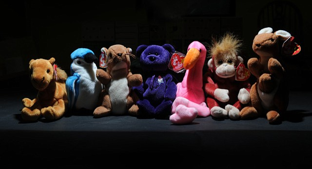 <b>BEAR MARKET:</b>  For awhile in the mid-'90s, the purple Princess Diana bear was the Holy Grail of Beanie Babies. They regularly sold among collectors for upward of $300. Now, most of them are worth just a few bucks.