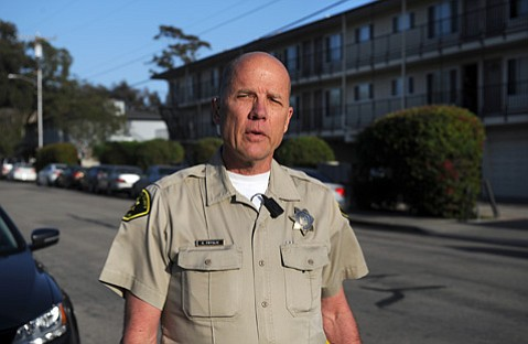 <b>SLOW YOUR ROLL:</b>  Deputy Kim Fryslie, the Foot Patrol's Greek liaison, says I.V. chapter houses are starting to rein it in after a number of suspensions and closures.