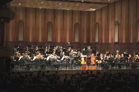 The Santa Barbara Symphony with Philippe Quint, violin. At the Granada Theatre, Saturday, April 11.