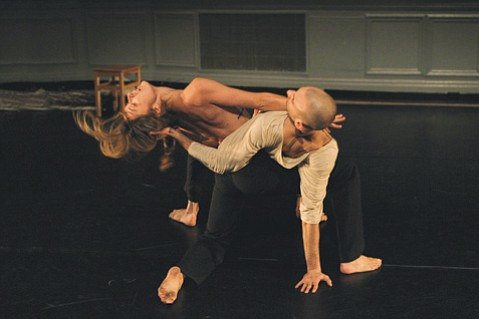 <b>DARING MOVES:</b>  New York City-based choreographer Adam Barruch has been chosen as DANCEworks' artist-in-resident, beginning at the end of August. Next week, however, Barruch and his duet partner, Chelsea Bonosky, will be in town to dance excerpts from his recent work, Belladonna at the Lobero Theatre.