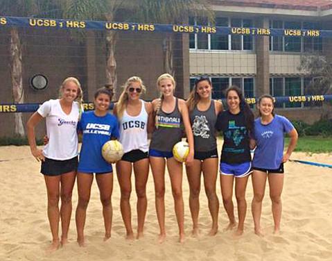 Cal Women S Beach Volleyball