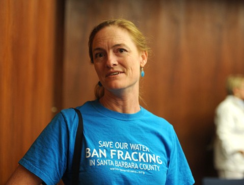<b>SAME STANDARD:</b>  Katie Davis of the Santa Barbara Sierra Club questioned if car owners are expected to be smogged, why should oil companies get a pass?