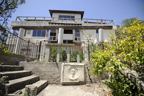 <b>ON SHAKY GROUND:</b>  The fate of the historically significant but long-condemned Franceschi House, situated on 15 acres of city parkland, could be decided in six months' time.