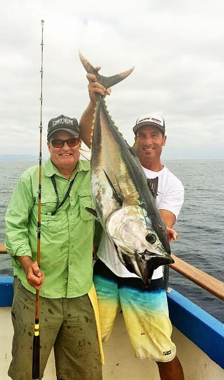 Tropical fish caught off santa barbara coast for Santa barbara fishing report