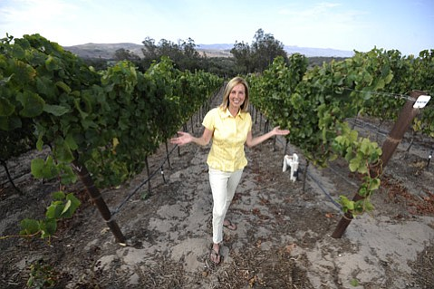 <b>FRINGE FARMER: </b>Pushing the boundaries of what can grow just 12 miles from the ocean, Sandra Newman is growing wine grapes, blueberries, gooseberries, mulberries, hardy kiwis, and more.