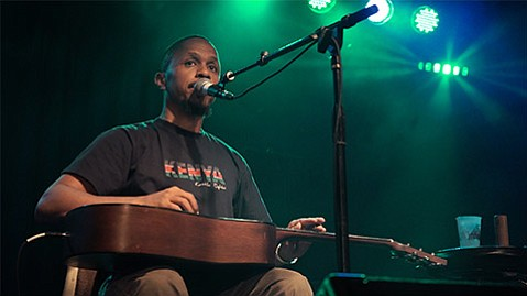 <b>HEALING HANDS:</b>  Patrick Mureithi, who plays at SOhO December 6, released his debut album this year after a decade-long physical impairment that prevented him from making music.