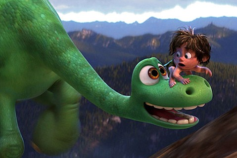 <b>JURASSIC LARK:</b>  Pixar's <i>The Good Dinosaur</i> is a good time for the whole family.